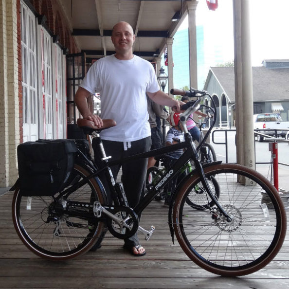 Brandon with City Commuter