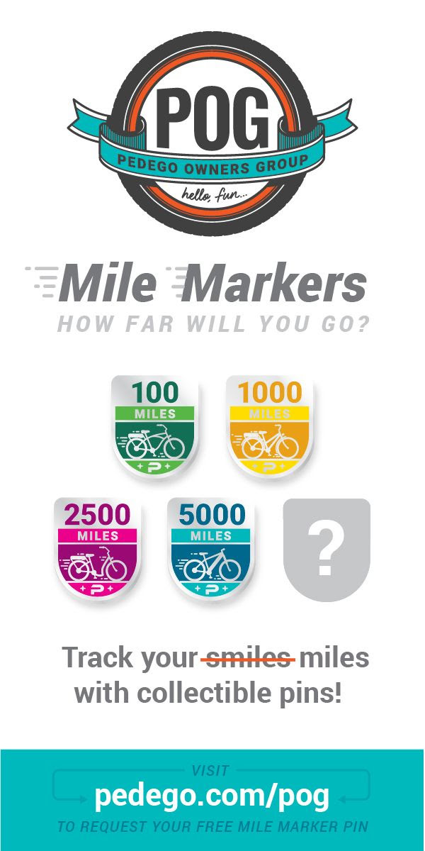 pedego mile marker program